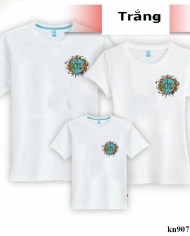 áo thun gia đình in logo năm mơi