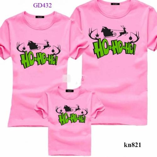 áo thun gia đình In Hohoho
